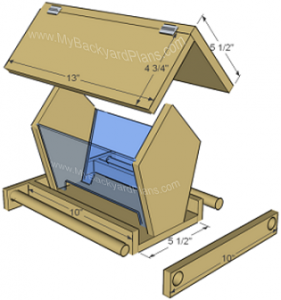 Free Bird Feeder Plans to Download | Cool Woodworking Plans