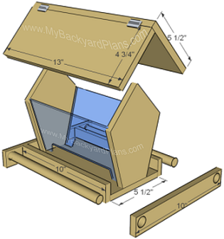Free Woodworking Bird Feeder Plans | The Woodworking Plans