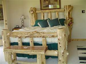 Log Furniture Plans
