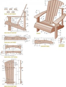adirondack chair woodworking patterns