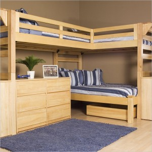 Loft Bed Plans – Build a Loft Bed | Cool Woodworking Plans