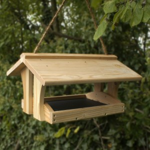 How To Make A Homemade Wooden Bird Feeder