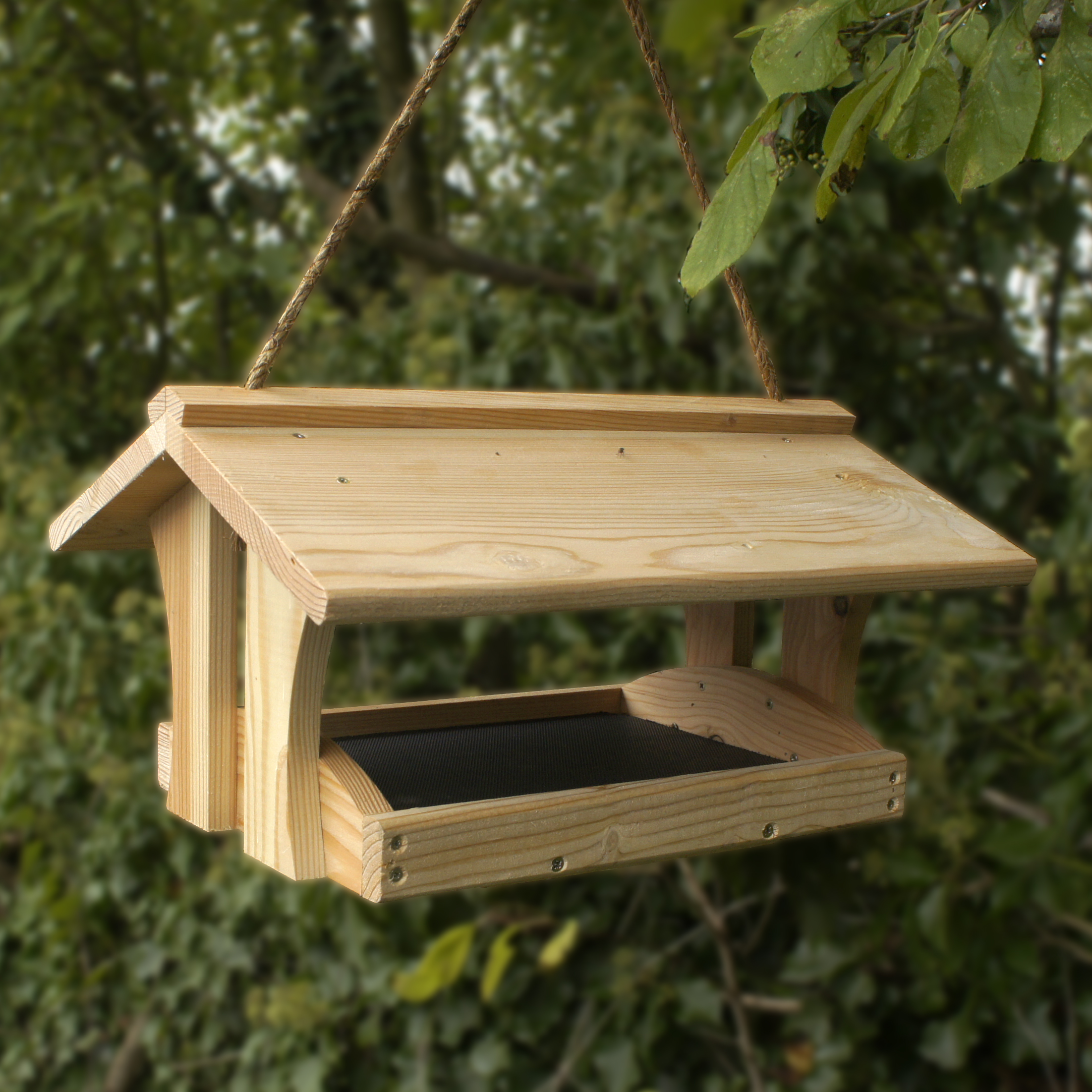 plans for wood bird feeder