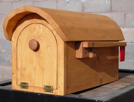 how to make a wood mailbox 2