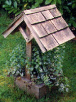 wishing well plans - planter